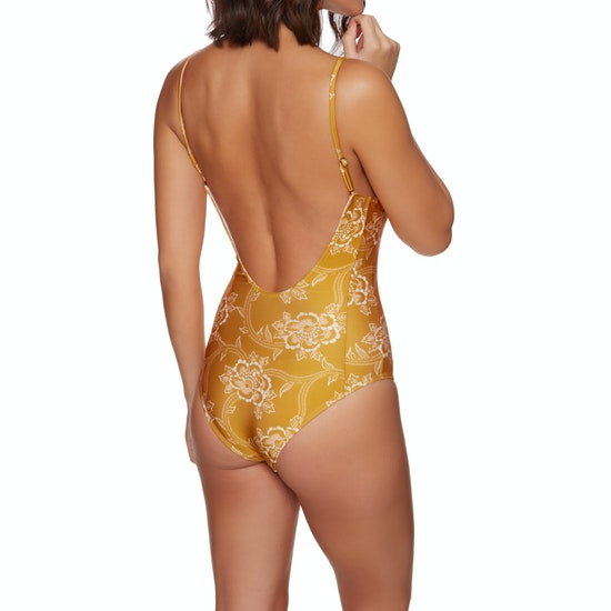 Nine Islands Floral Womens Swimsuit