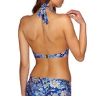 Nine Islands Zinnia Shaped Halter Bikini Top