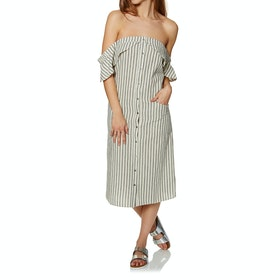 SWELL Delta Stripe Midi Dress - Stripe
