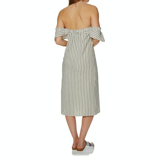SWELL Delta Stripe Midi Dress