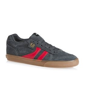 Globe Encore 2 Shoes - Charcoal Gum Red