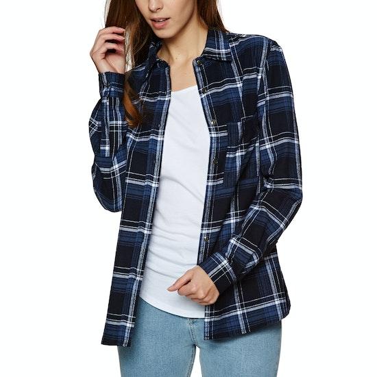SWELL Josie Check Flannel Ladies Shirt