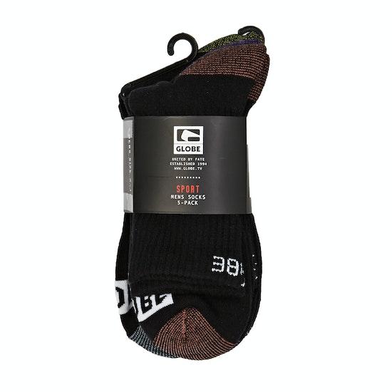 Globe Romney Crew Sock 5 Pack Socks