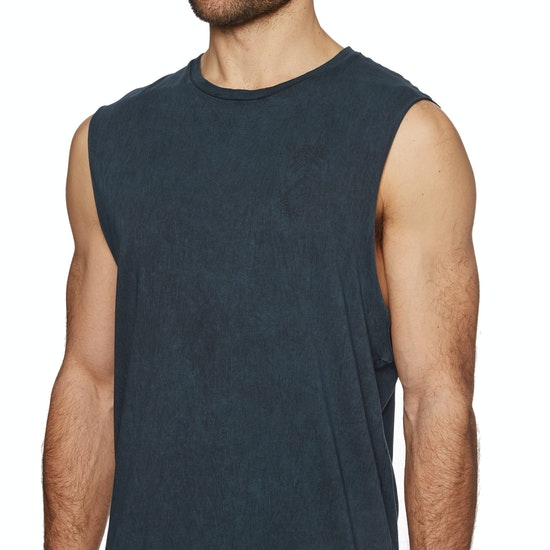 Globe Twisted Muscle Tank Vest