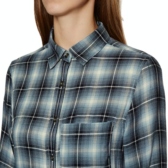 SWELL Maya Check Viscose Damen Hemd