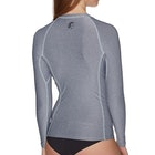 O'Neill Hybrid Long Sleeve Crew Ladies Rash Vest