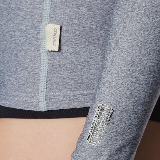 O'Neill Hybrid Long Sleeve Crew Ladies Rash Vest