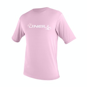 O'Neill Toddler Basic Skins Short Sleeve Rash Girls Surf T-Shirt - Pink