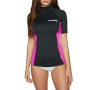 O'Neill Skins Short Sleeve Turtleneck Ladies Rash Vest