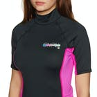 O Neill Skins Short Sleeve Turtleneck Ladies Rash Vest