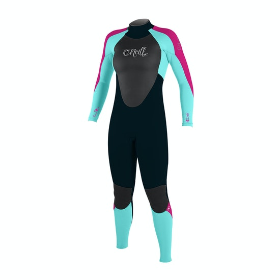 O'Neill Girls Epic 3/2mm Back Zip Kids Wetsuit