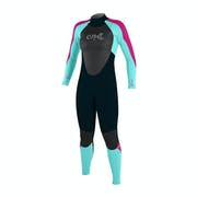 O Neill Girls Epic 3/2mm Back Zip Kids Wetsuit