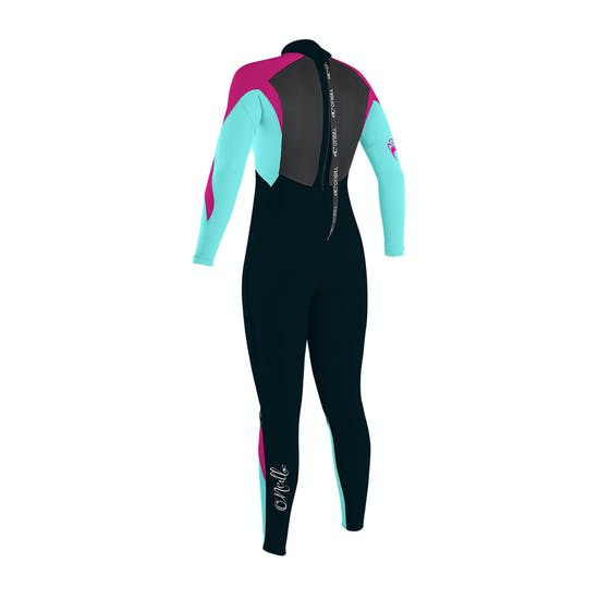 O'Neill Girls Epic 4/3mm Back Zip Kids Wetsuit