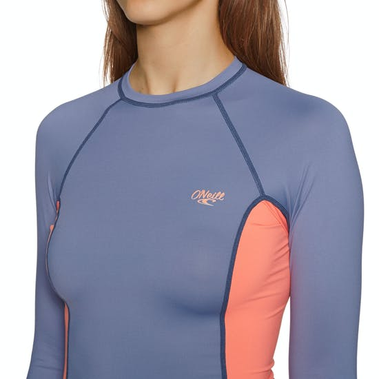 O'Neill Premium Skins Long Sleeve Rash Guard Ladies Rash Vest