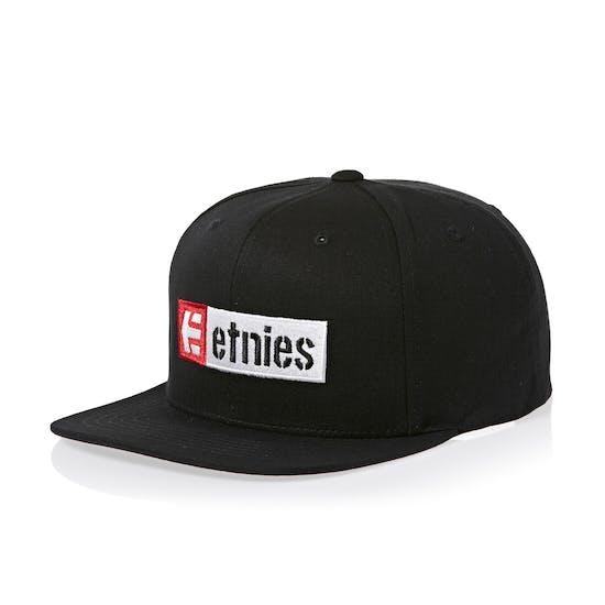 Etnies Corp Box Mix Snapback Cap