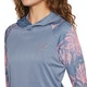 O'Neill Long Sleeve Print Hoody Womens Rash Vest