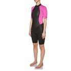O'Neill Womens Reactor II 2mm Back Zip Shorty Wetsuit