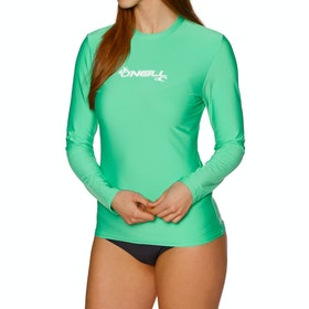 O'Neill Basic Skins Long Sleeve Surf T-Shirt - Seaglass
