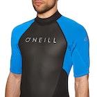 O'Neill Reactor II 2mm Back Zip Shorty Wetsuit
