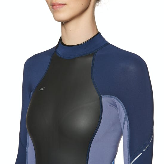 O'Neill Womens Bahia 2/1mm Long Sleeve Shorty Wetsuit