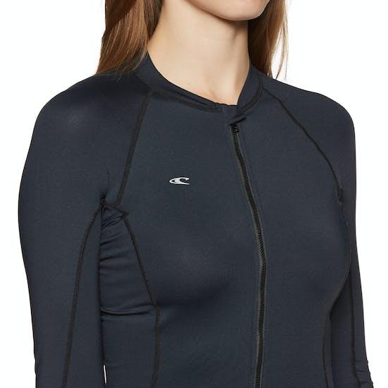 O'Neill Skins Long Sleeve Surf Suit Ladies Rash Vest