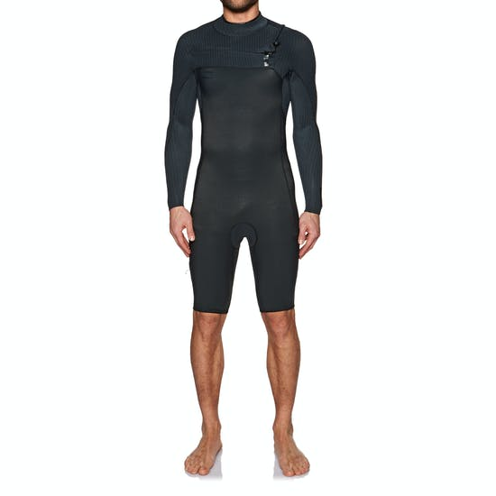O'Neill Hyperfreak 2mm Chest Zip Long Sleeve Shorty Wetsuit