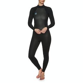 O'Neill Reactor II 3/2mm Back Zip Wetsuit - Black