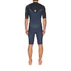 O'Neill 2mm Hyperfreak Chest Zip Short Sleeve Shorty Wetsuit