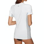 O'Neill Side Print Short Sleeve Ladies Rash Vest