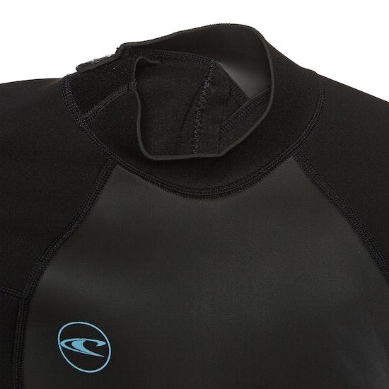 O'Neill Womens Reactor II 2mm Back Zip Shorty Wetsuit