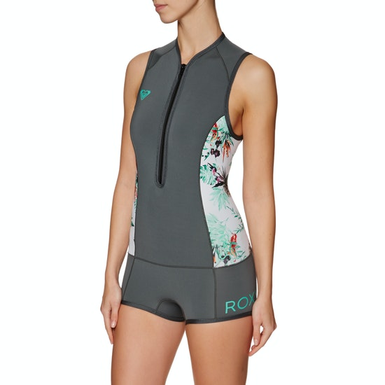 Roxy Syncro 1mm 2018 Front Zip Shorty Womens Wetsuit