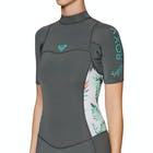 Roxy Syncro 2mm 2 Back Zip Shorty Ladies Wetsuit