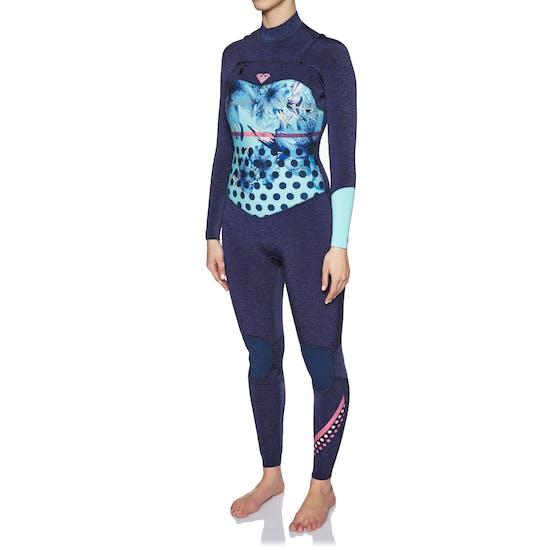 Roxy Pop Surf 3/2mm Chest Zip Ladies Wetsuit