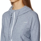 O'Neill Hybrid Long Sleeve Zip Sun Hoody Ladies Surf T-Shirt