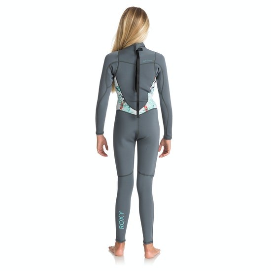 Roxy 3-2mm 2018 Girl Syncro Back Zip Girls Wetsuit