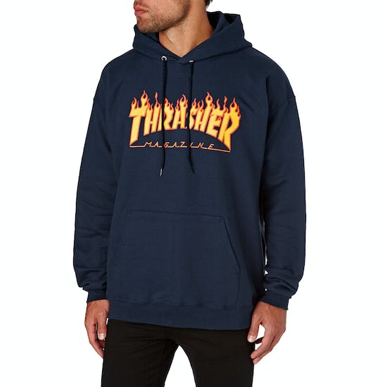 Thrasher Flame Logo Pullover Hoody