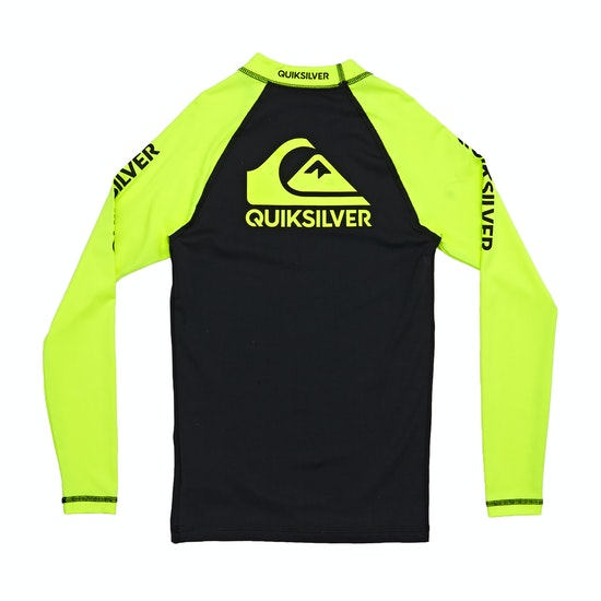 Quiksilver On Tour Long Sleeve Boys Rash Vest