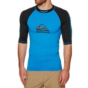 Quiksilver On Tour Short Sleeve Mens Rash Vest