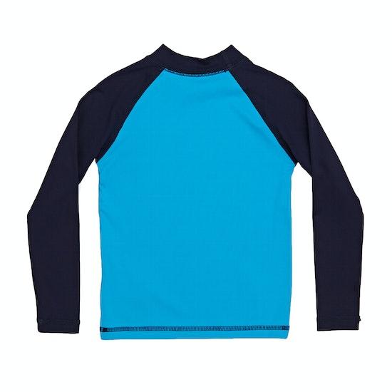 Quiksilver Bubble Dream Long Sleeve Boys Rash Vest
