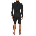 Quiksilver Syncro 2mm 2018 Back Zip Long Sleeve Shorty Wetsuit