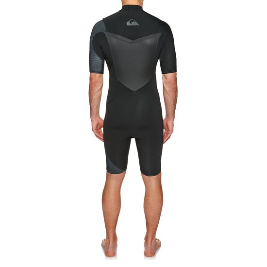 Quiksilver Highline 2mm 2018 Chest Zip Shorty Wetsuit
