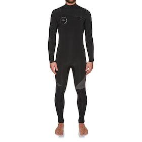 Combinaison de Surf Quiksilver Syncro 3/2mm 2018 Chest Zip - Jet Black