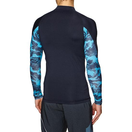Quiksilver Slash Short Sleeve Rash Vest