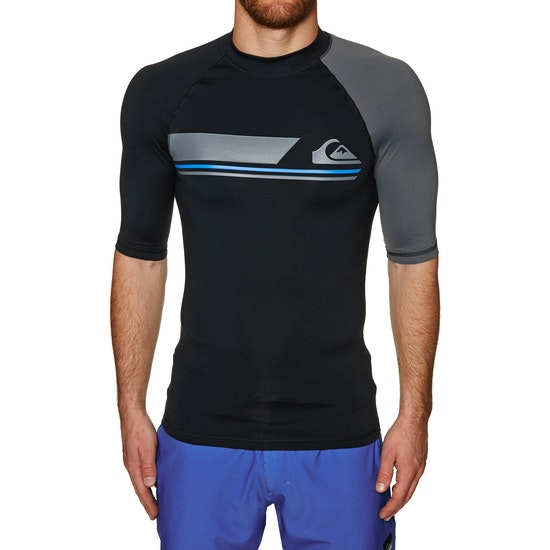 Quiksilver Active Short Sleeve Rash Vest