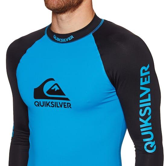 Quiksilver On Tour Long Sleeve Mens Rash Vest