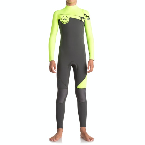 Quiksilver Syncro 3/2mm 2018 Chest Zip Boys Wetsuit