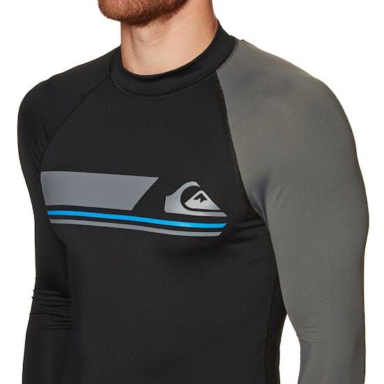 Quiksilver Active Long Sleeve Rash Vest