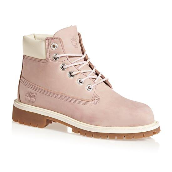 100% jakości oryginalne buty szeroki zasięg Timberland 6 In Premium Waterproof Girls Boots   Free ...
