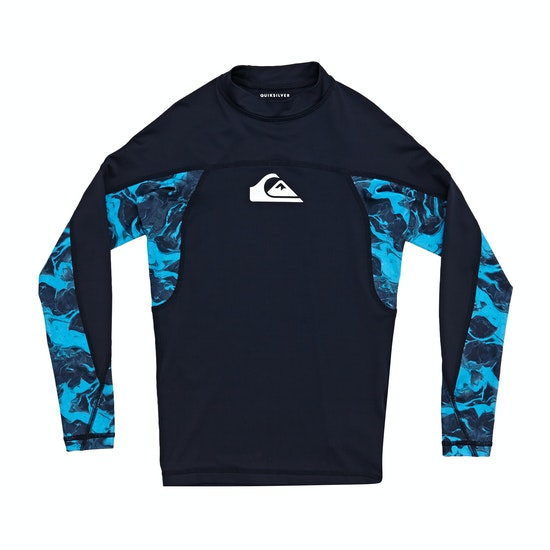 Quiksilver Slash Long Sleeve Boys Rash Vest