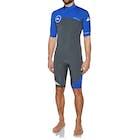 Quiksilver Syncro 2mm 2018 Back Zip Short Sleeve Wetsuit